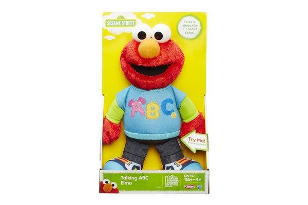Playskool sesame street talking abc elmo ebay for Elmo abc
