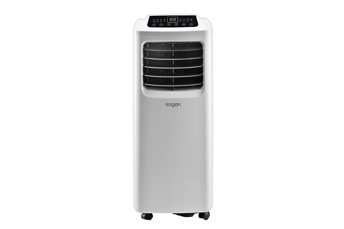 the kogan 10 000 btu portable air conditioner lets you stay cool all