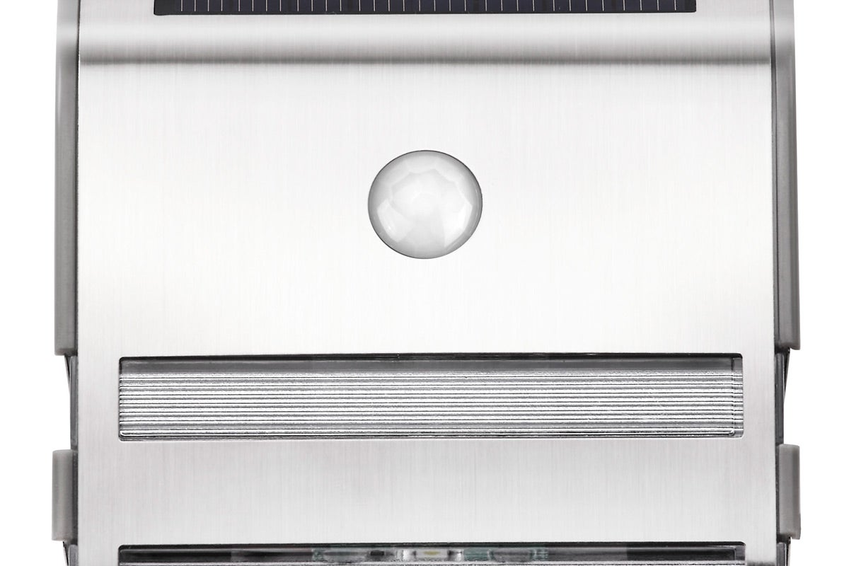 2 Pack Solar Wall Mounted Motion Sensor Light (Silver) eBay