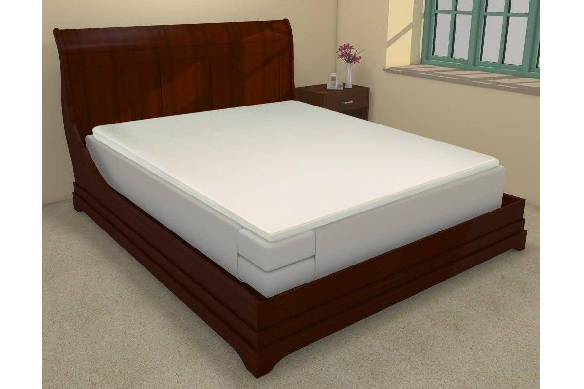 new ovela mattress topper memory foam single brand new. Black Bedroom Furniture Sets. Home Design Ideas