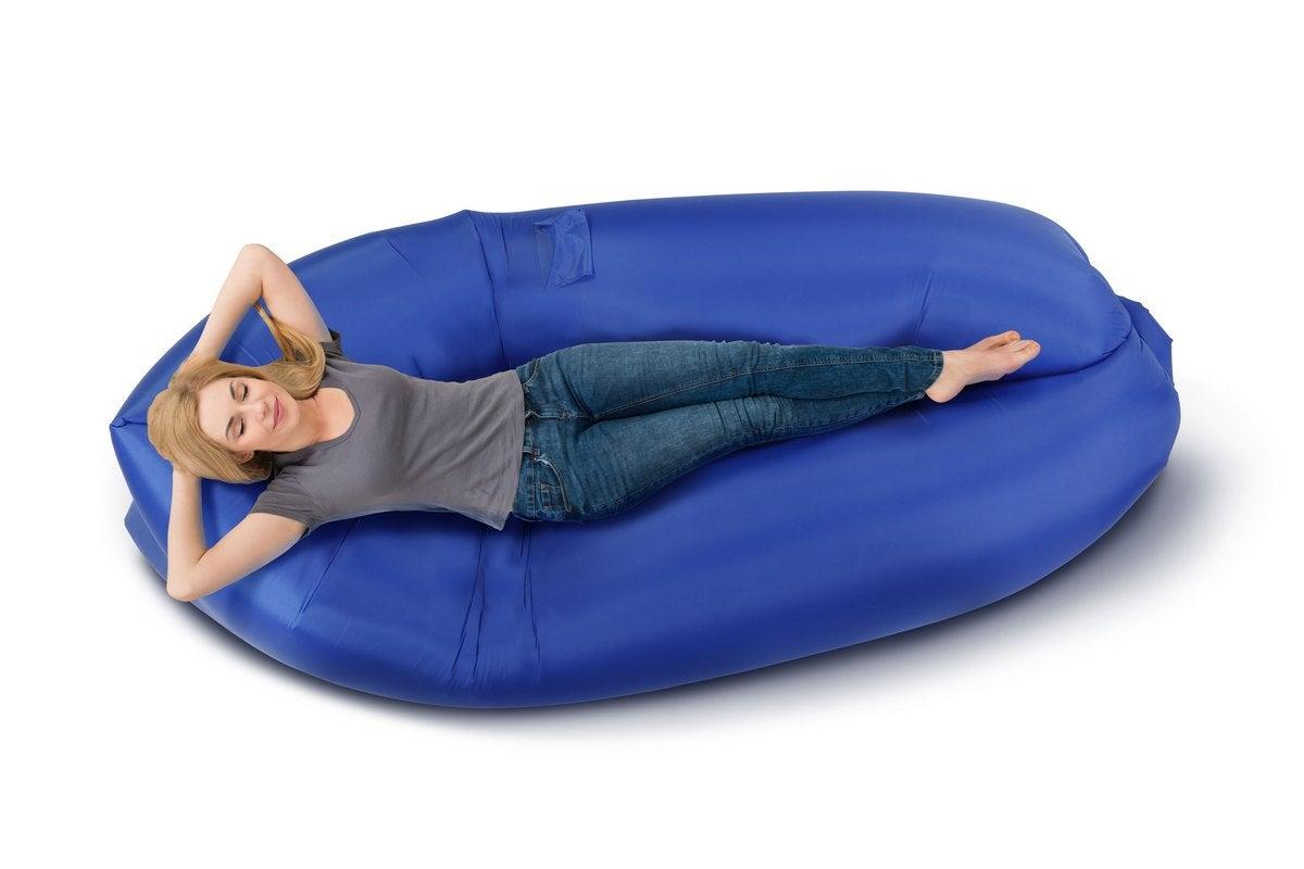 Komodo Inflatable Sofa Blue Ebay