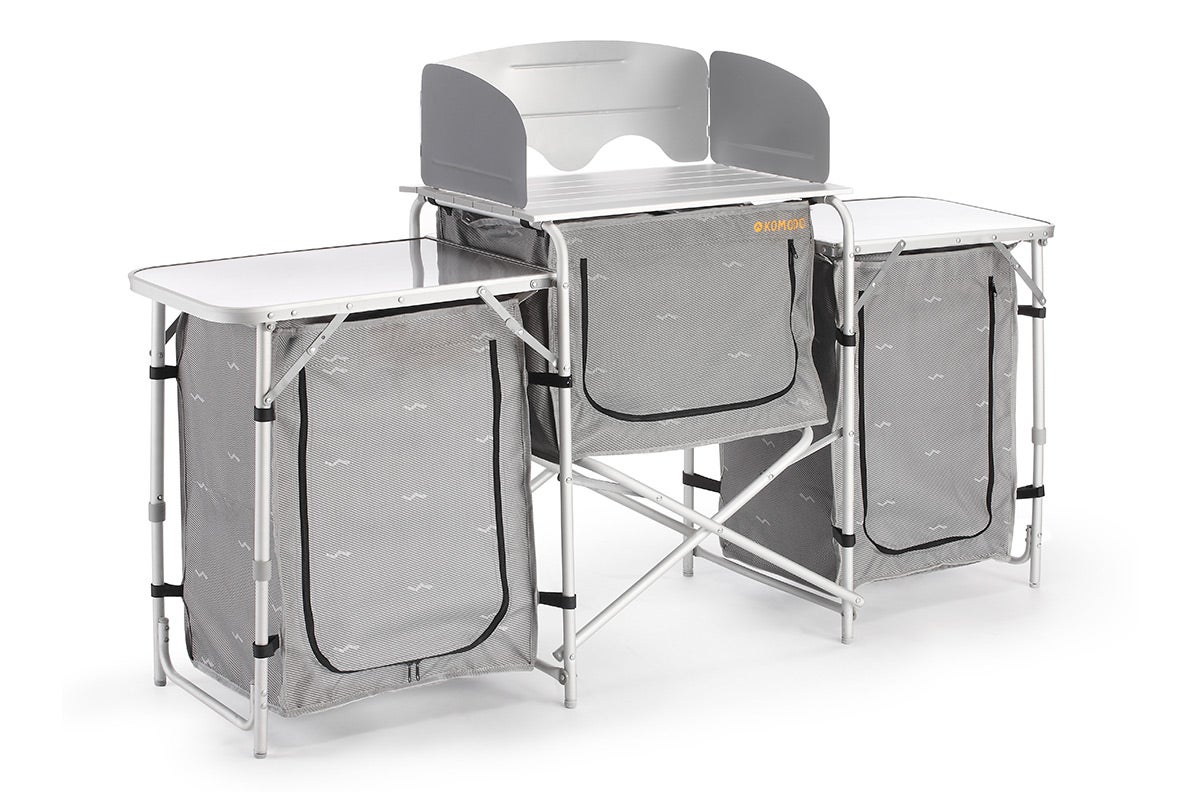 ... about NEW Komodo Camping Kitchen Deluxe Aluminium Camping Furniture