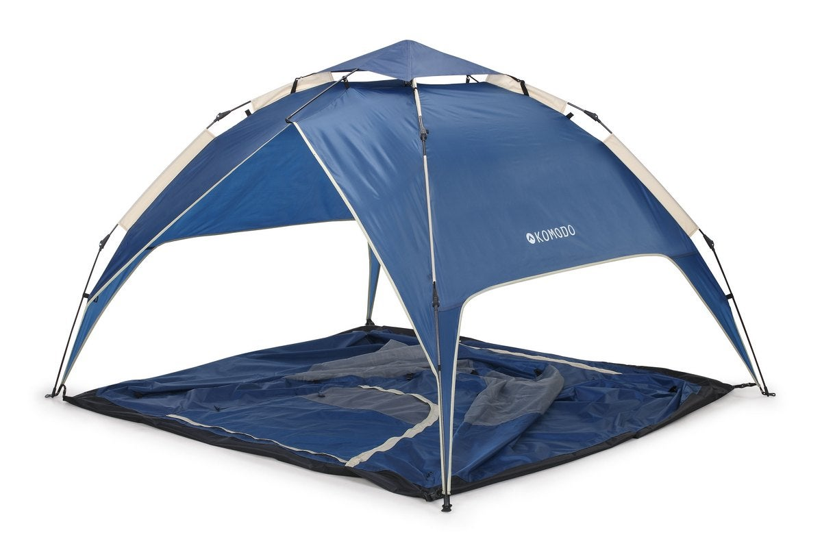Pop Up Tent Shelters : New komodo tent in four person instant pop up tents