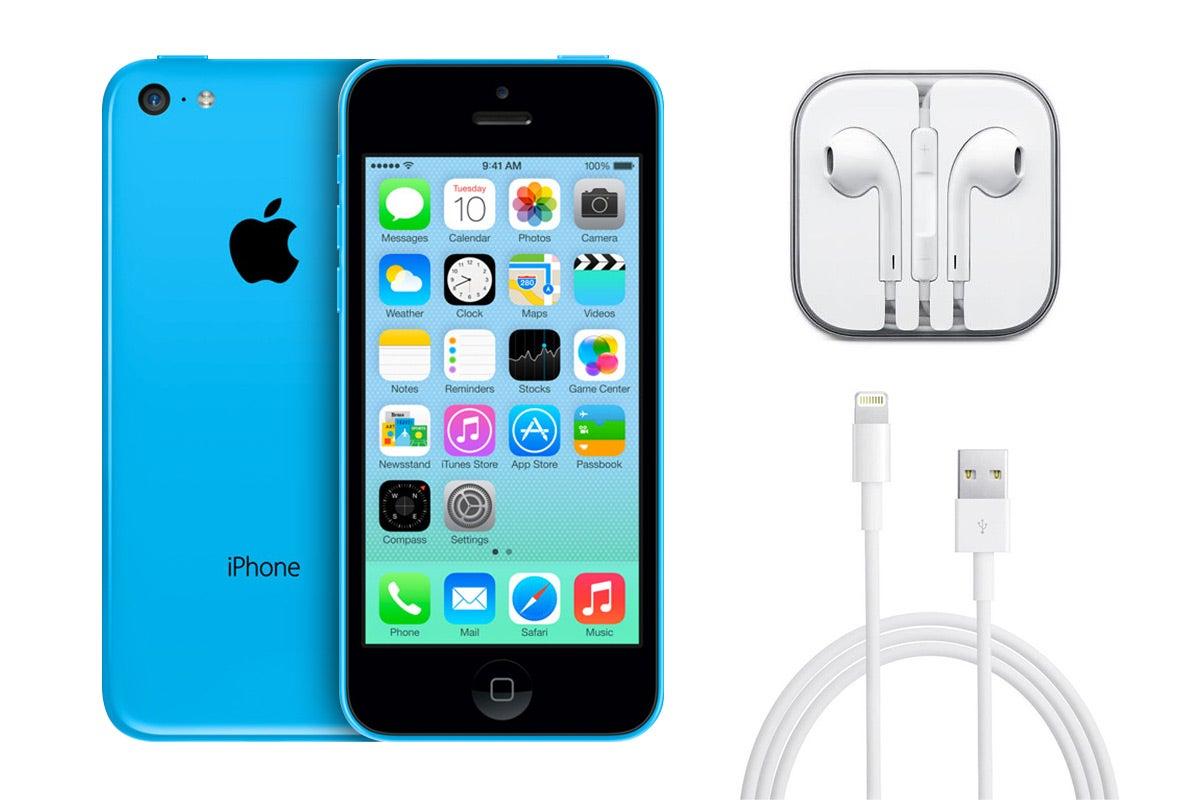 apple iphone 5c refurbished 32gb blue ebay. Black Bedroom Furniture Sets. Home Design Ideas