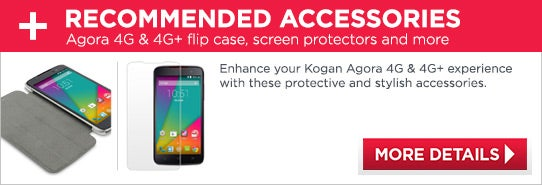 Recommended Accessories - Kogan Agora 4G