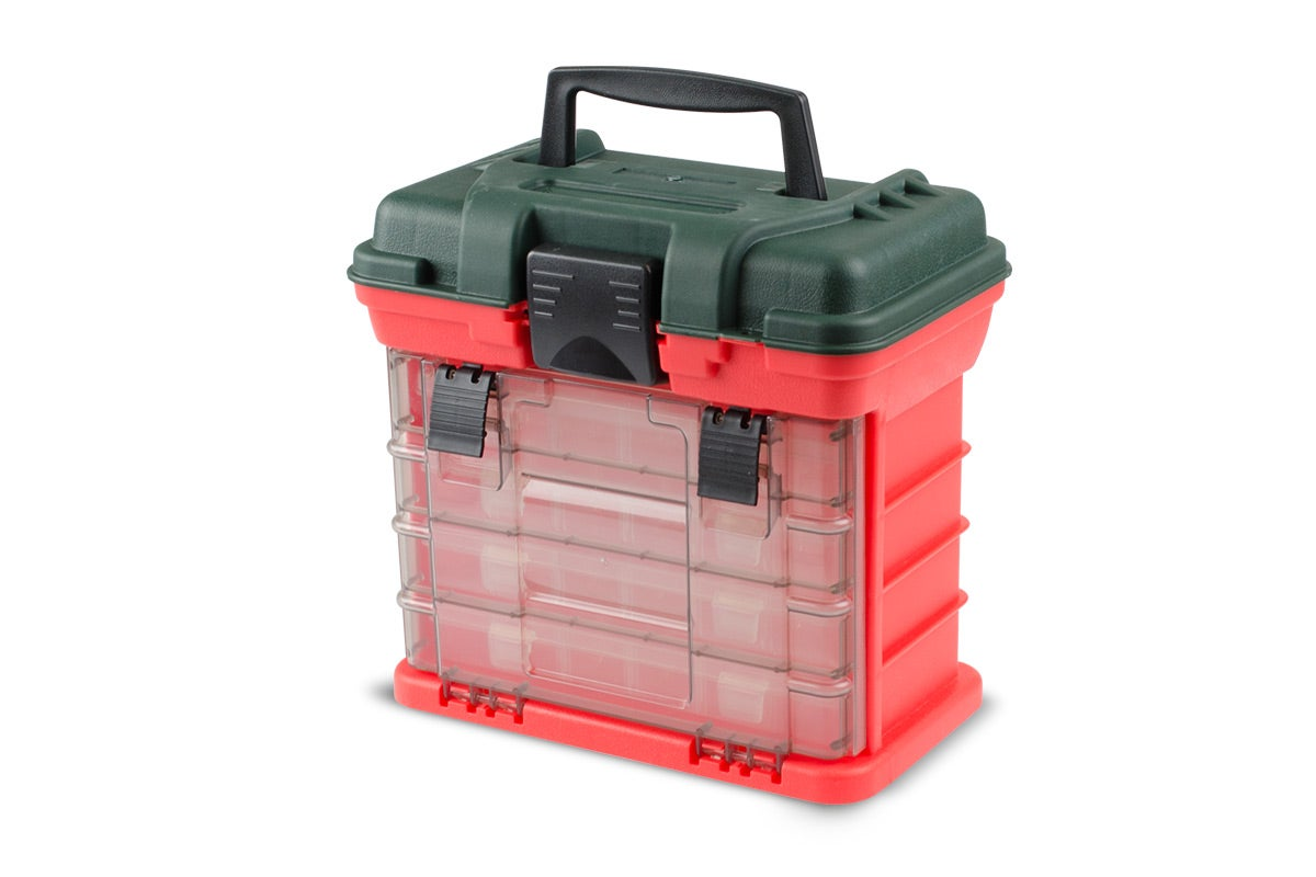 New Komodo Fishing Tackle Box Heavy Duty Fishing Tackle