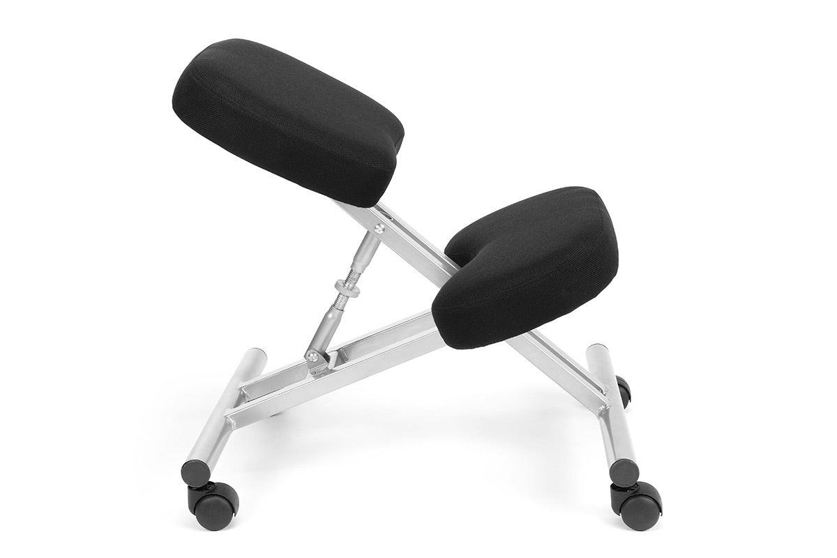 New ovela office chair ergonomic kneeling chair ebay for Chair kneeling
