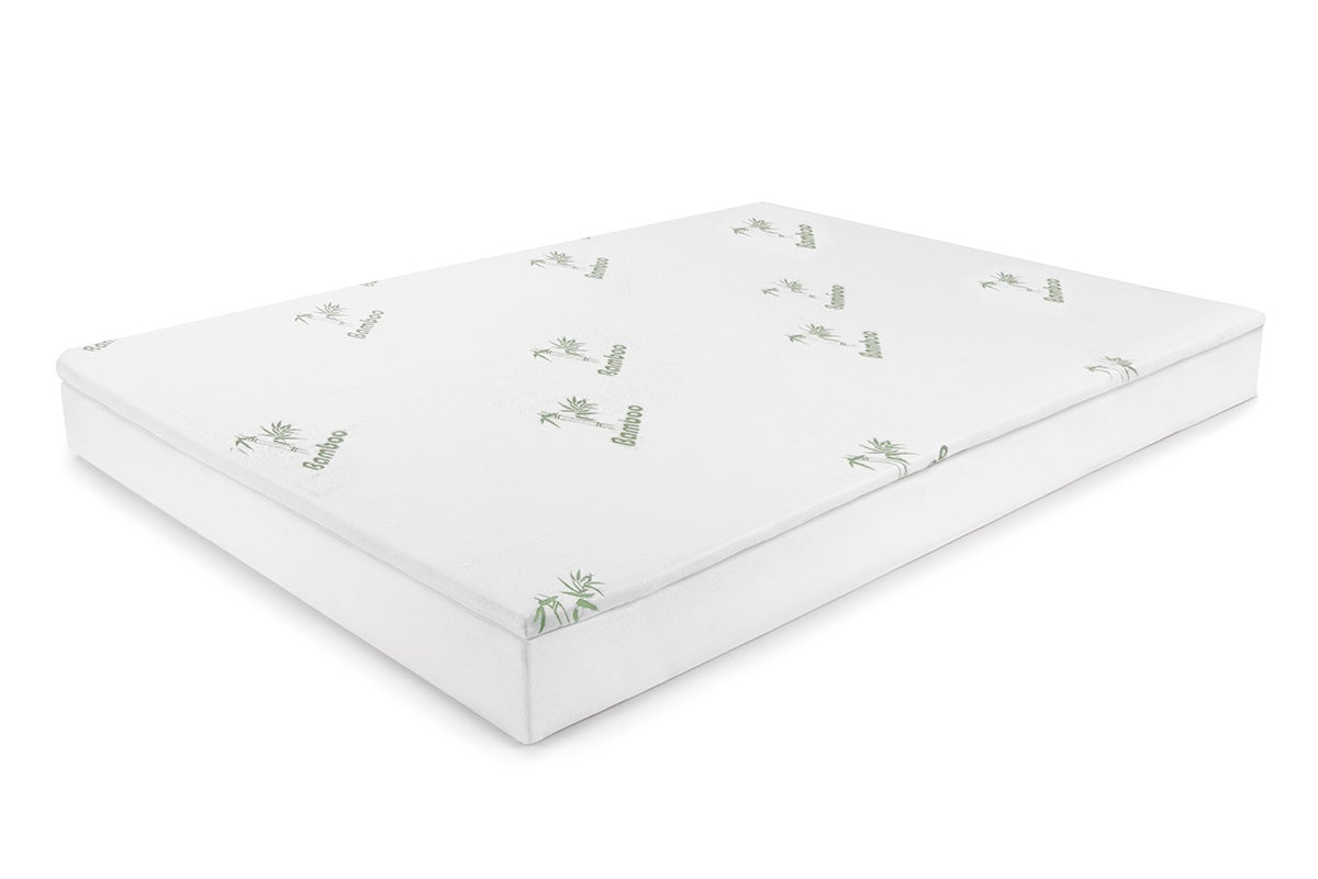 Ovela bamboo memory foam mattress topper king ebay Memory foam king mattress