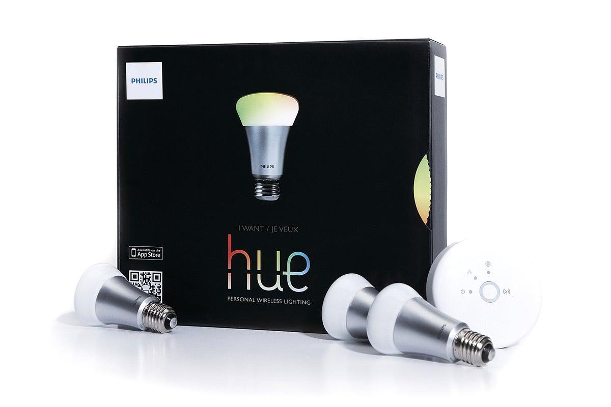 new philips lightbulb starter kit hue smart wireless led. Black Bedroom Furniture Sets. Home Design Ideas