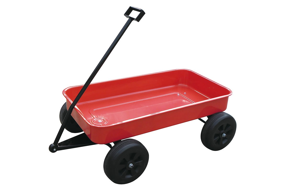 Large Outdoor Toys : New little blokes toy wagon metal large red outdoor