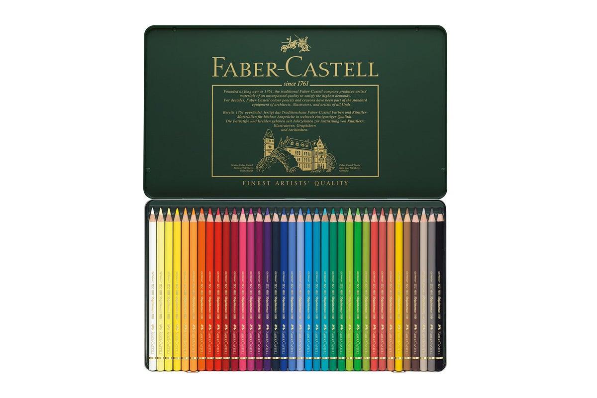 faber castell polychromos pencils 36 assorted colours. Black Bedroom Furniture Sets. Home Design Ideas