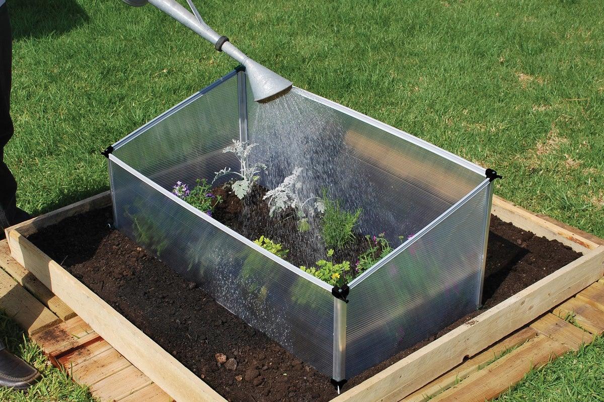 maze single cold frame greenhouse ebay. Black Bedroom Furniture Sets. Home Design Ideas