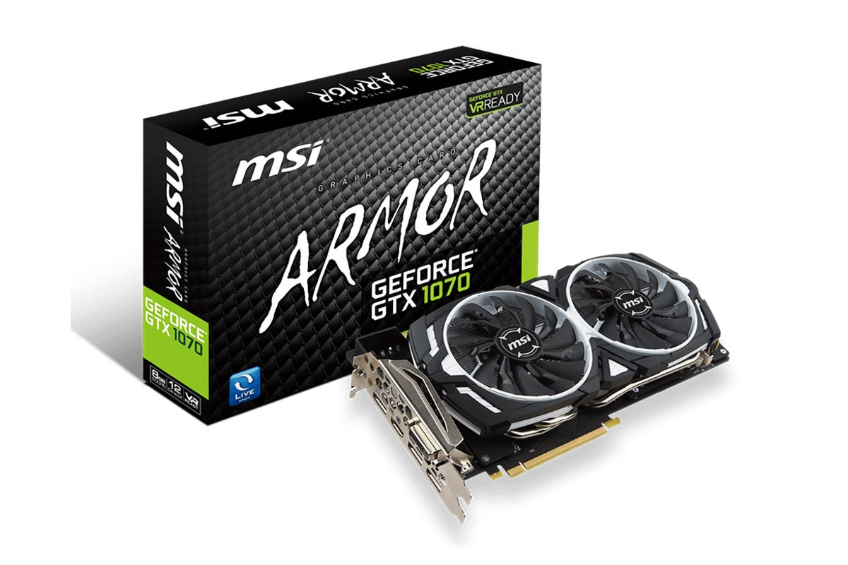 msi geforce gtx 1070 armor 8gb ebay. Black Bedroom Furniture Sets. Home Design Ideas