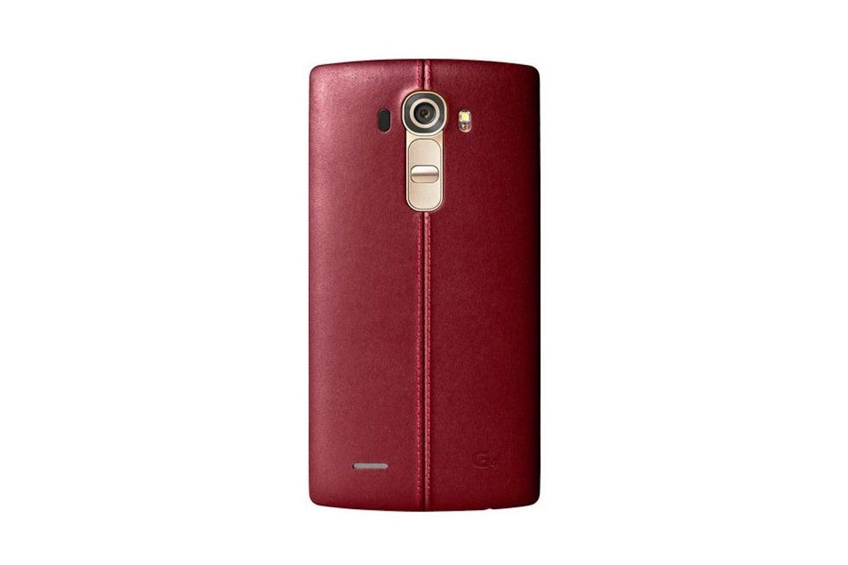 lg g4 4g lte lg h815 32gb leather red ebay. Black Bedroom Furniture Sets. Home Design Ideas