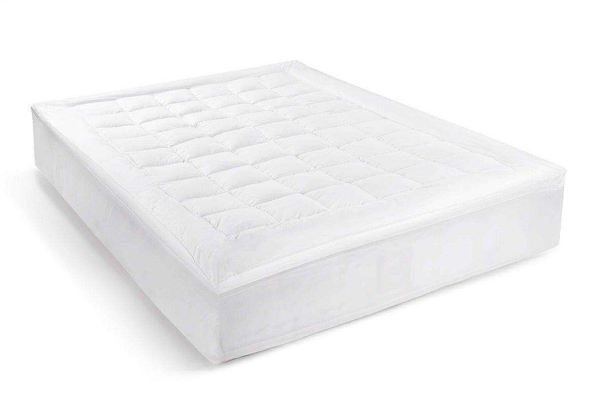 Ovela Luxury Pillow Top Mattress Topper King Single