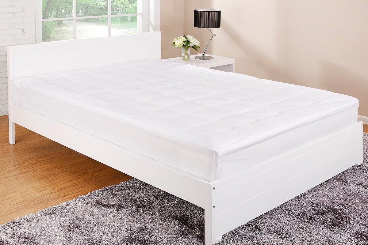 Ovela Luxury Pillow Top Mattress Topper Queen