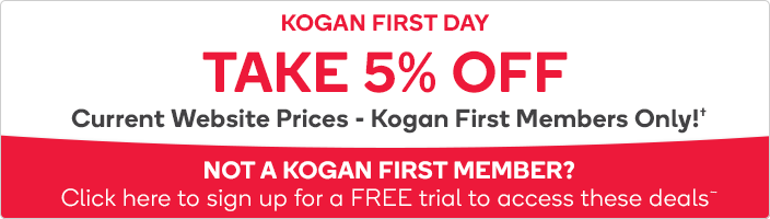 5% OFF Current Website Price - Kogan First Members Only!#