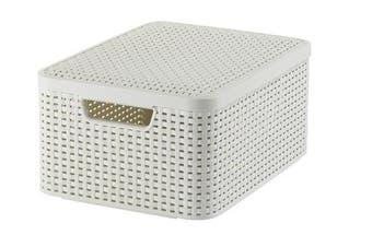 Curver Knit Style Storage Box (Medium)