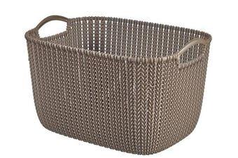 Curver Rectangular Knit Basket (19lt)