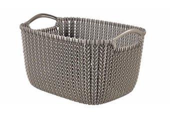 Curver Rectangular Knit Basket (8lt)