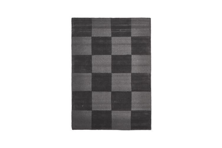 Wool Hand Tufted Rug - Box Pewter - 225x155cm
