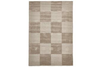 Wool Hand Tufted Rug - Box Taupe
