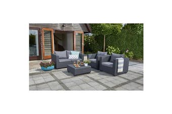 Keter Salta Four Seater Outdoor Lounge Set