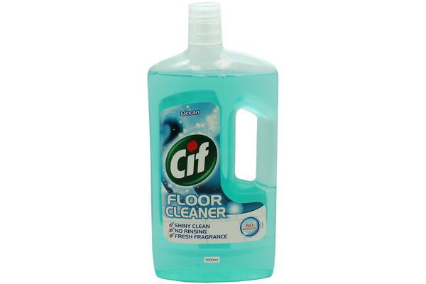 3 x CIF Floor Cleaner Ocean 1L