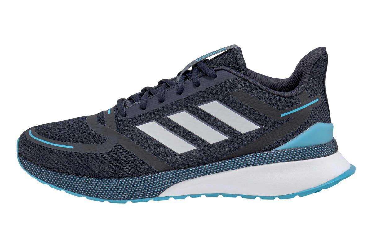 Adidas Men's Nova Run Shoe (Legend Ink/Dash Grey/Bright Cyan, Size 8 US)