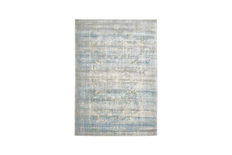 Mist Stunning Designer Rug Silver Blue 230x160cm