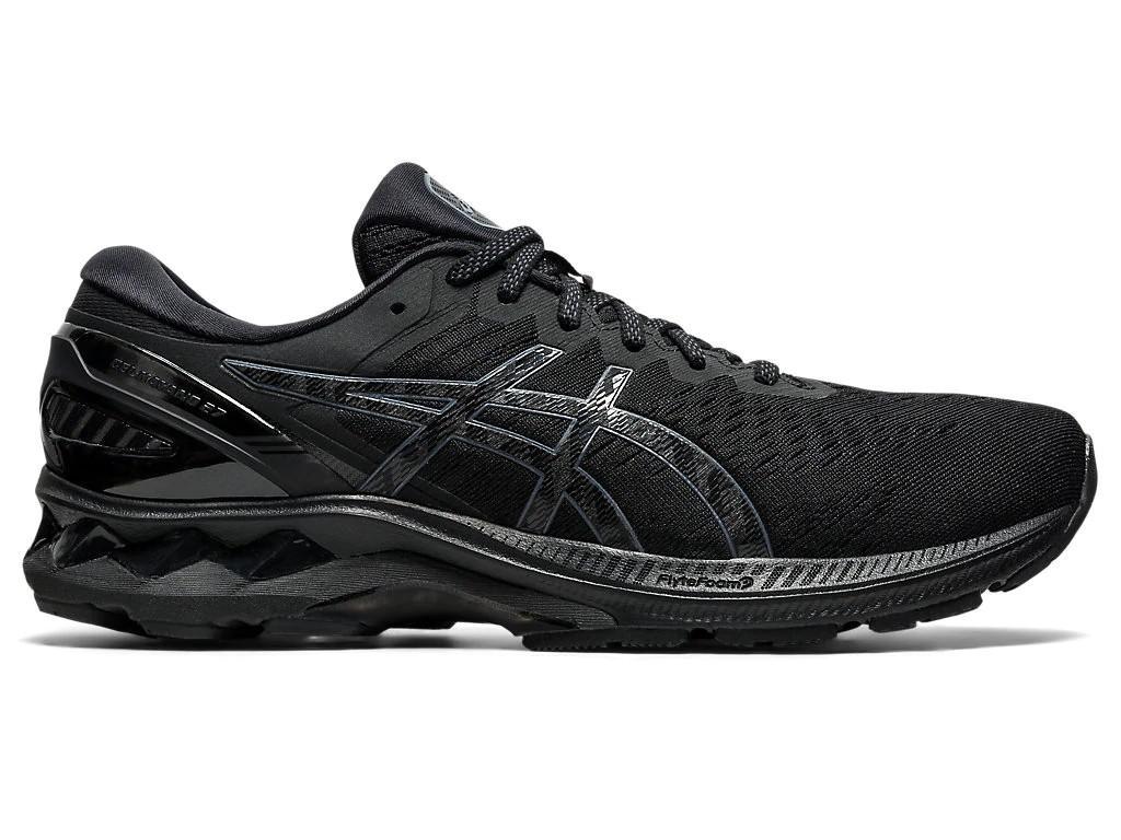 ASICS Men's Gel-Kayano 27 Running Shoe (Black/Black, Size 8.5 US)