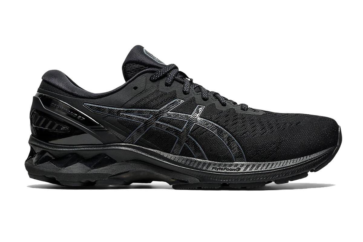 ASICS Women's Gel-Kayano 27 Running Shoe (Black/Black, Size 7 US)