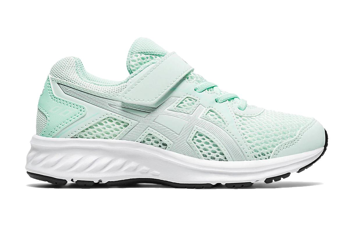 ASICS Girls's Jolt 2 Ps Running Shoe (Bio Mint/Pure Silver, Size K11 US)