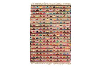 Marlo Naturl Jute and Cotton Rug 220x150cm