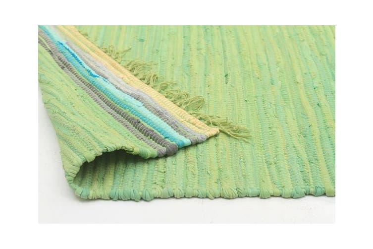 Boho Whimsical Rug Green 270x180cm