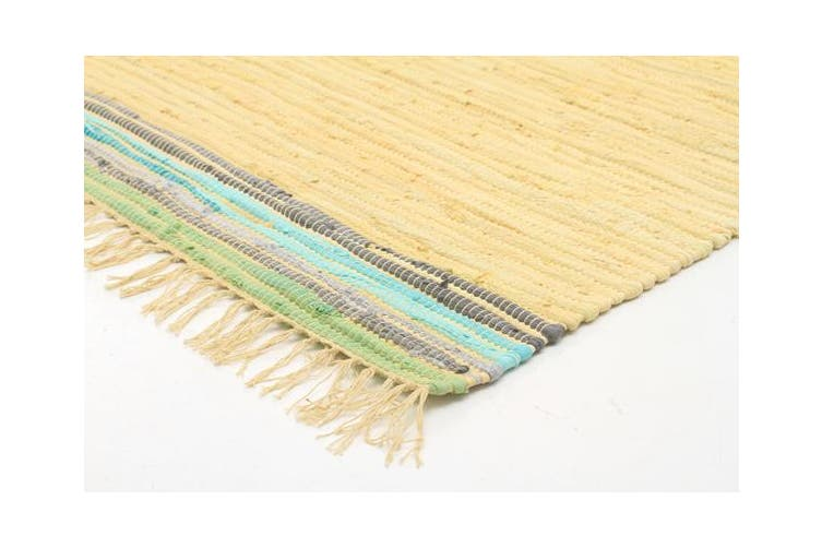 Boho Whimsical Rug yellow 270x180cm