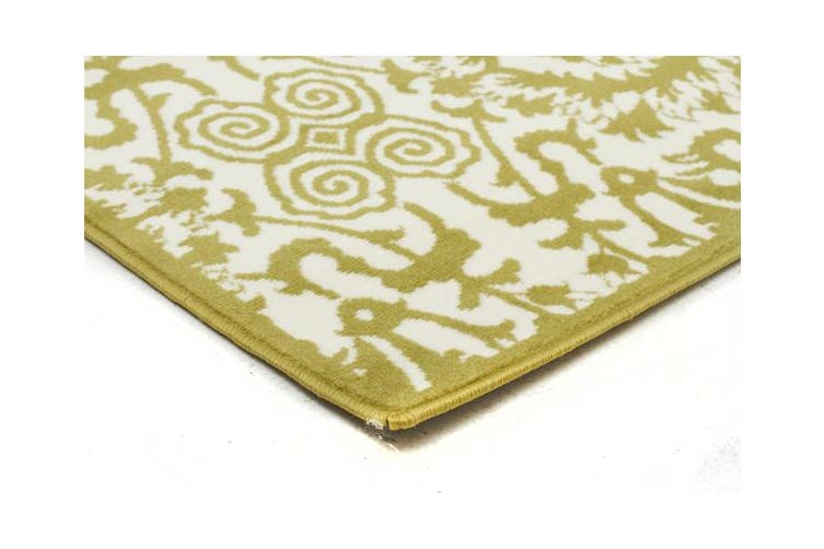 Funky Lace Design Lime Rug 230x160cm