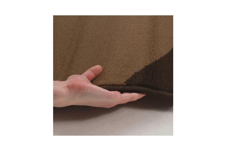 Swish Modern Rug Brown 230x160cm