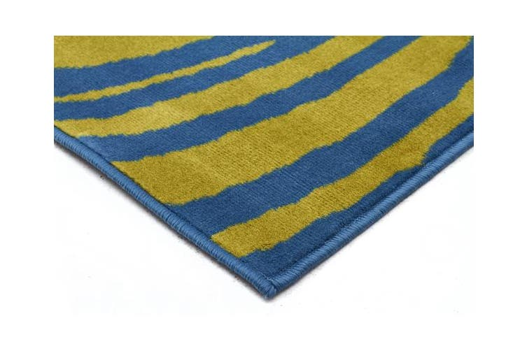 Beautiful Sway Blue & Green Rug 230x160cm