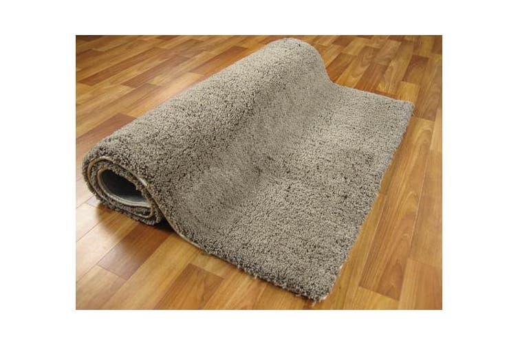 Texture Shag Rug Beige 165x115cm
