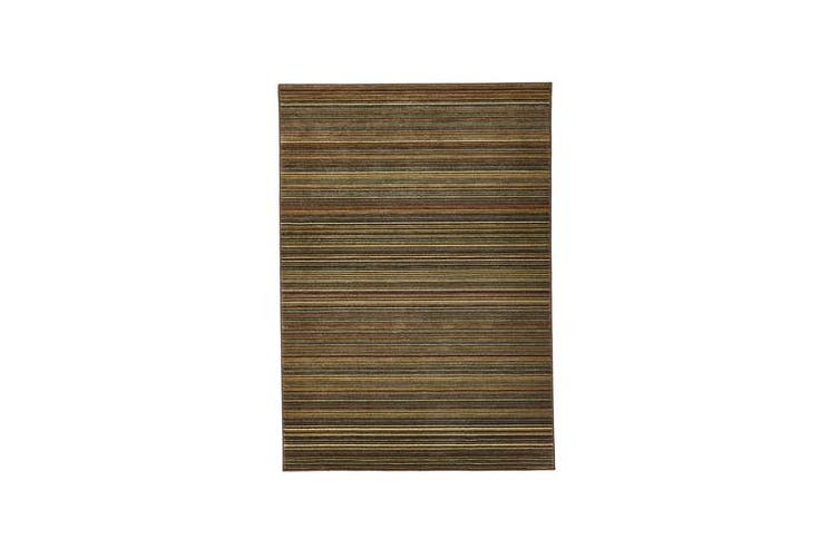Traditional Stripped Rug Beige 330x240cm