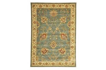 Classic Chobi Design Rug Blue