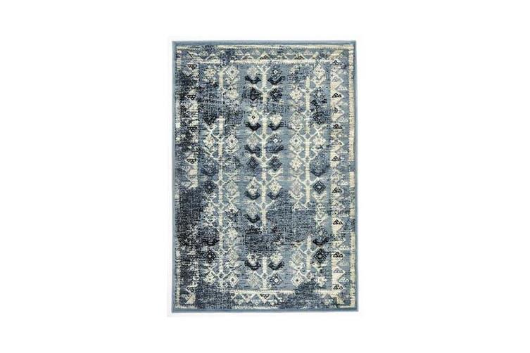 Urdu Tribal Rug Blue 330X240cm