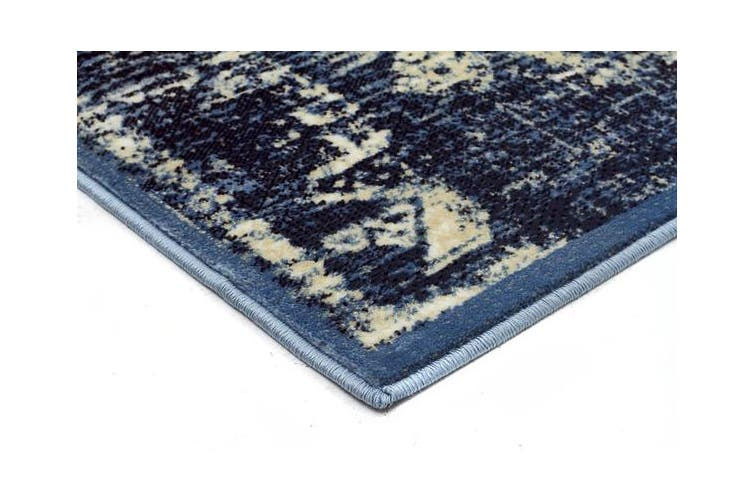 Urdu Tribal Rug Blue 290X200cm