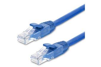 Astrotek CAT6 Cable 50m - Blue Color Premium RJ45 Ethernet Network LAN UTP Patch Cord 26AWG-CCA PVC Jacket