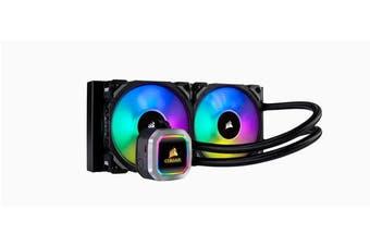 Corsair Hydro Series H100i 240mm RGB PLATINUM Liquid CPU Cooler. 5 Years Warranty