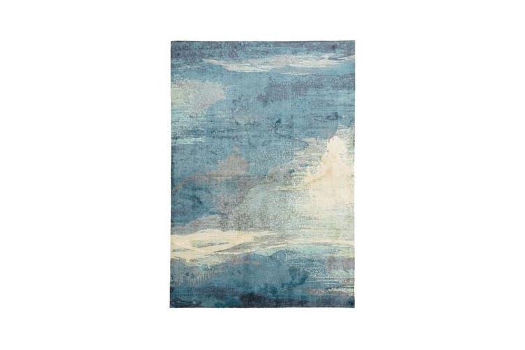 Monet Stunning Blue Rug 320x230cm