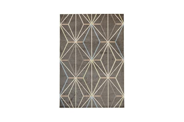Trance Modern Taupe Rug 280x190cm