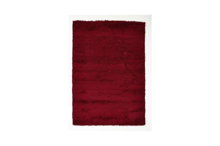 Kensington Shag Rug - Red 150x80cm