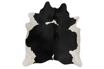 Exquisite Natural Cow Hide Black White 170x180cm